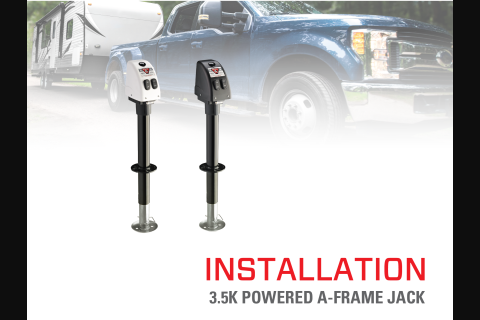 Product Install & Proper Use: BULLDOG® 3.5K Powered A-Frame Jack