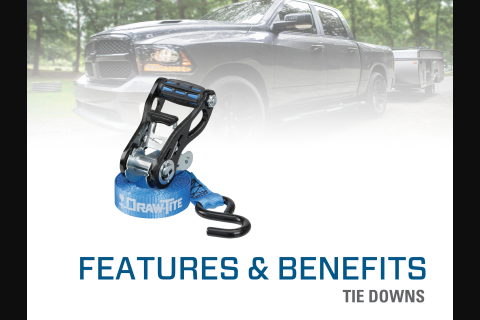 Features & Benefits: Draw•Tite® Tow Straps and Tow Strap Accessories